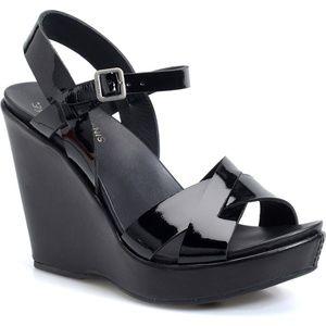 Kork-Ease Bette 2.0 Platform Patent Wedge Sandal